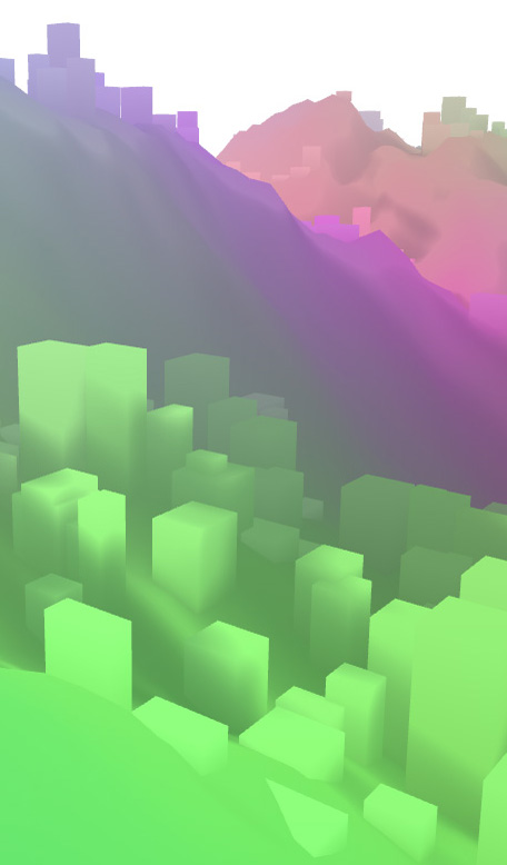 Namide's world 3, a 3D procedural space with Haxe/Heaps